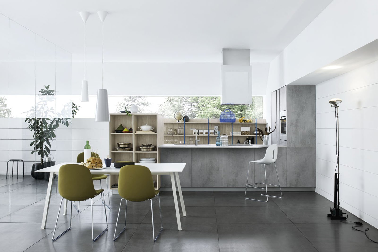 Mila Di Cesar è Anticonvenzionale E Trendy Adatta Ad Ambienti Di  #59512F 1600 1067 Veneta Cucine O Cesar