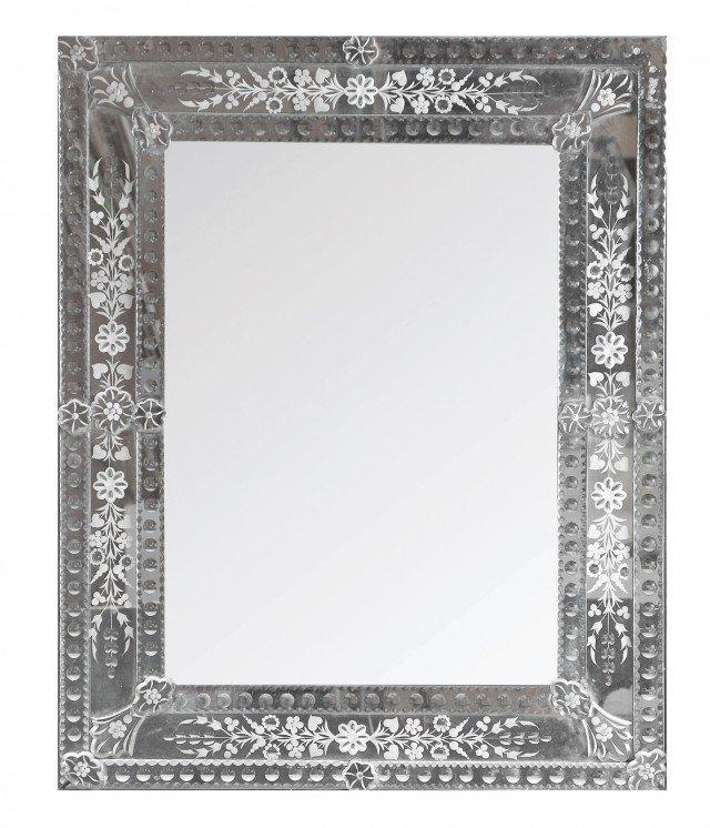 Bagno in stile vintage caldo e r tro cose di casa - Lastre di specchio ...