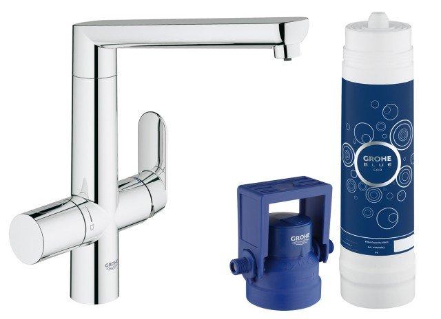 In cucina acqua fresca liscia o gassata direttamente dal - Miscelatore cucina perde acqua ...