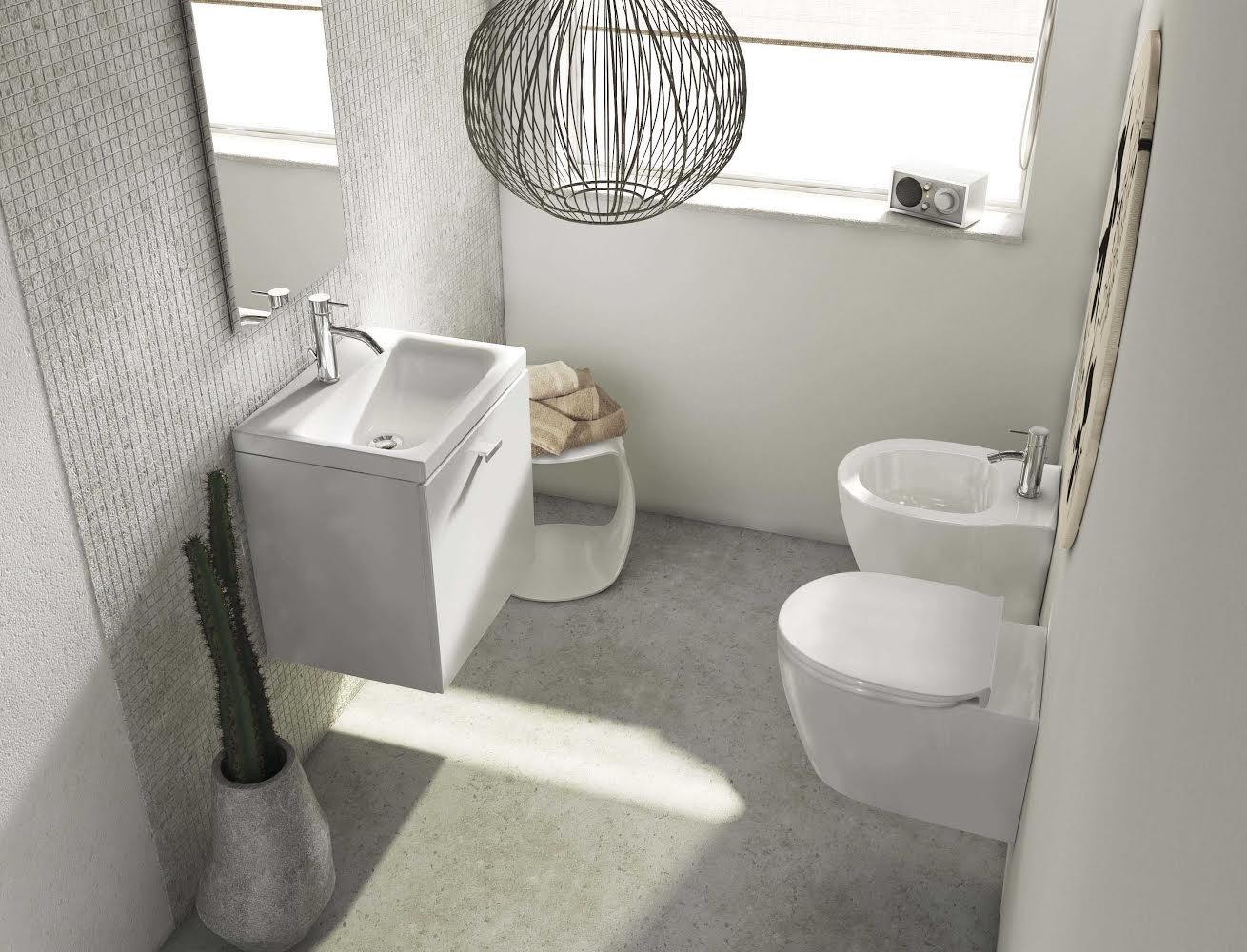 Da ideal standard le soluzioni bagno per tutte le esigenze for Mobiletti piccoli da bagno
