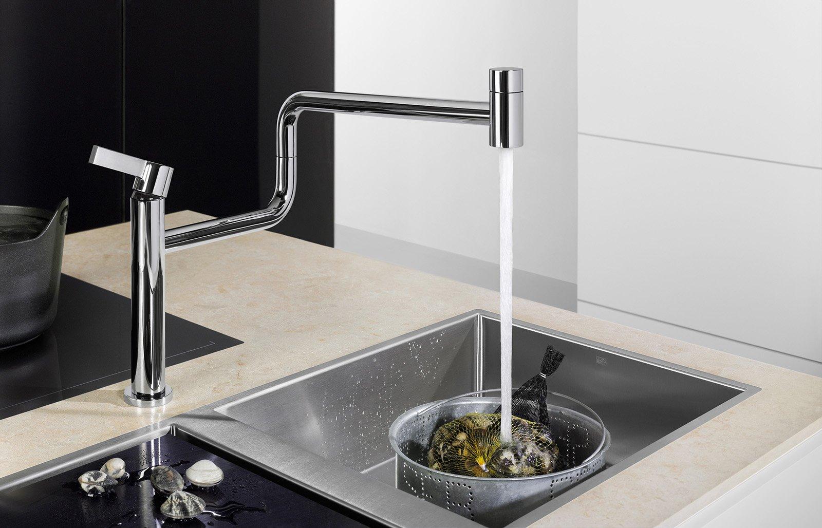 rubinetti per la cucina. i nuovi miscelatori - cose di casa - Rubinetti Per Lavello Cucina