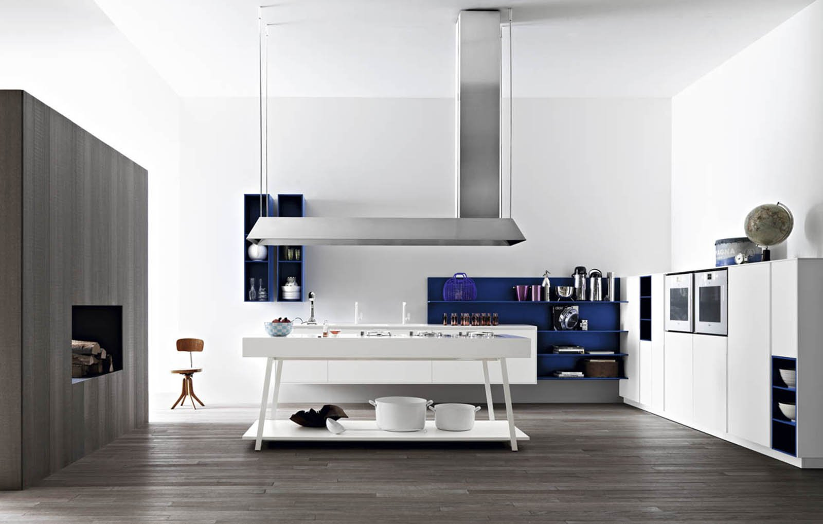 Beautiful Mensole Cucina Moderna Images - ubiquitousforeigner.us ...