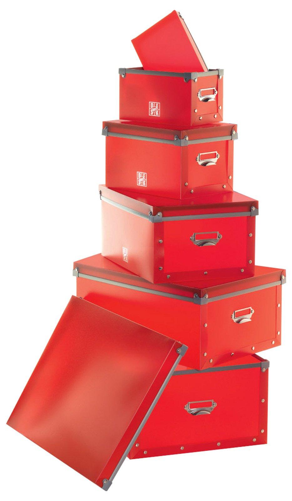5riplast set scatole rosse regali natale cose di casa - Scatole per trasloco ikea ...