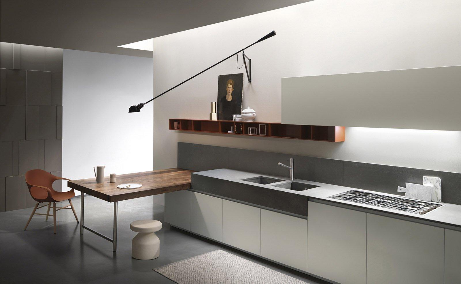 Prima casa prima cucina modelli di design a prezzo - Top cucina in cemento ...