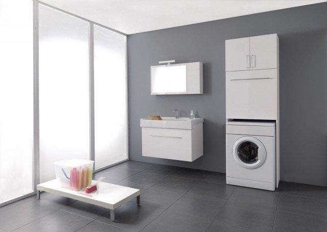 stunning cucina con lavatrice incassata contemporary ... - Arredo Bagno Con Lavatrice Incasso