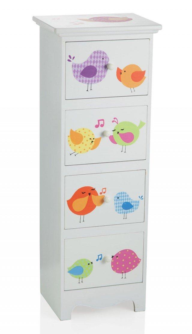 Arredare la cameretta cose di casa - Mini cassettiera ikea ...
