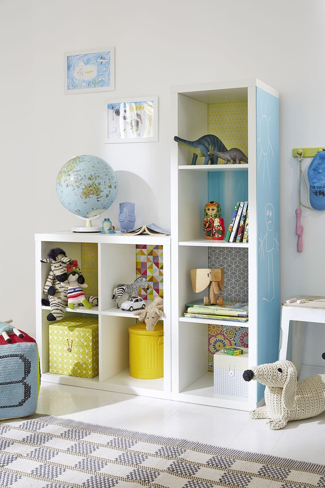 Personalizzare i mobili della camera dei bambini cose di for Mobili cameretta ikea