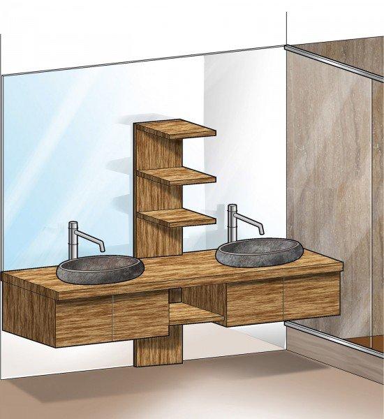 In 57 mq due bagni per la casa dagli incastri perfetti   cose di casa