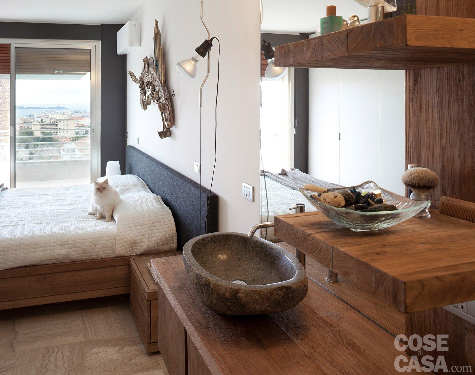 In 57 mq due bagni per la casa dagli incastri perfetti for 2 camere da letto 1 bagno di casa