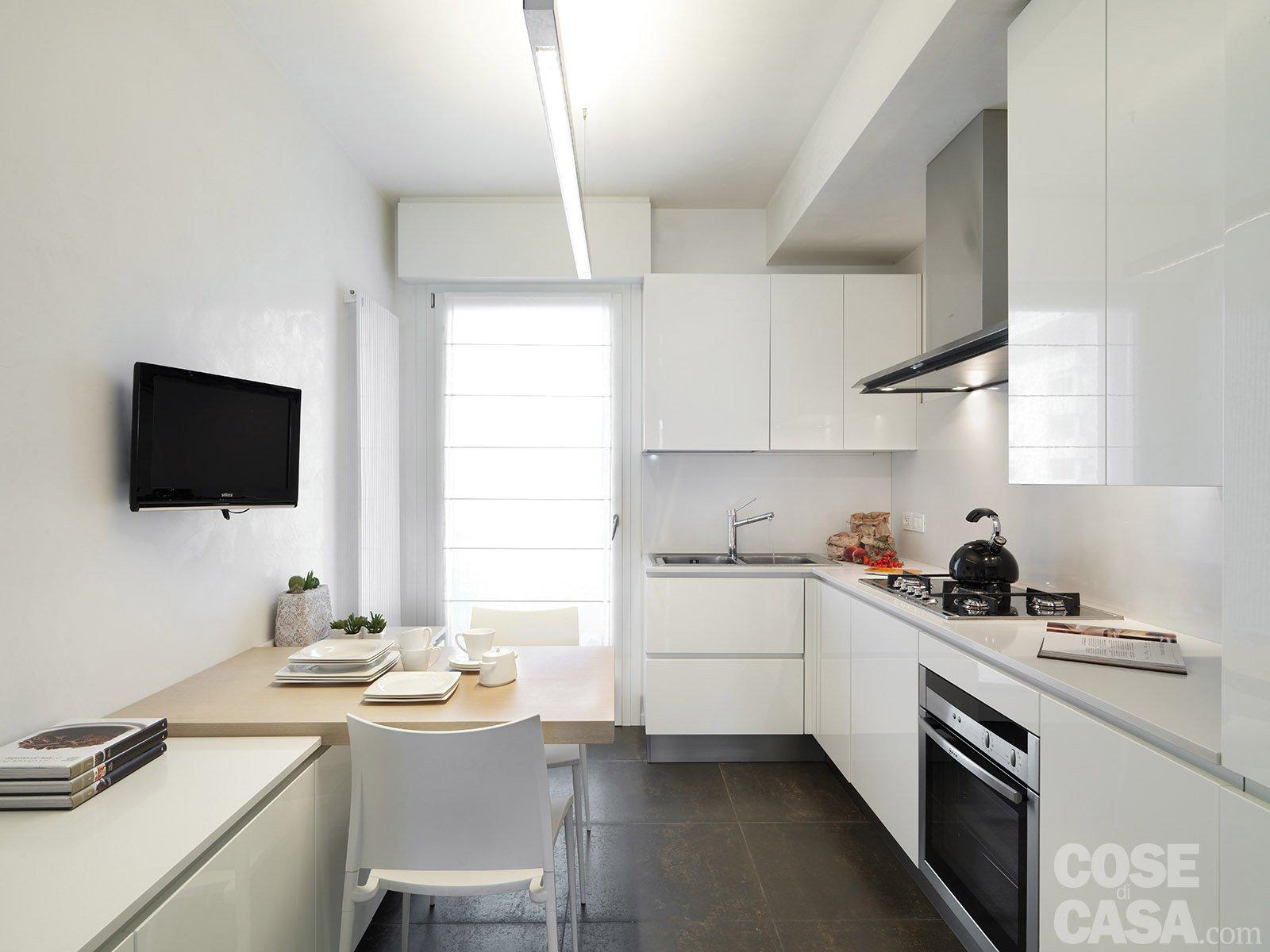La Tua Valutazione Valutazione Utente : 3 ( 17 Voti) #5A5045 1600 1200 Arredare Cucina Living Piccola