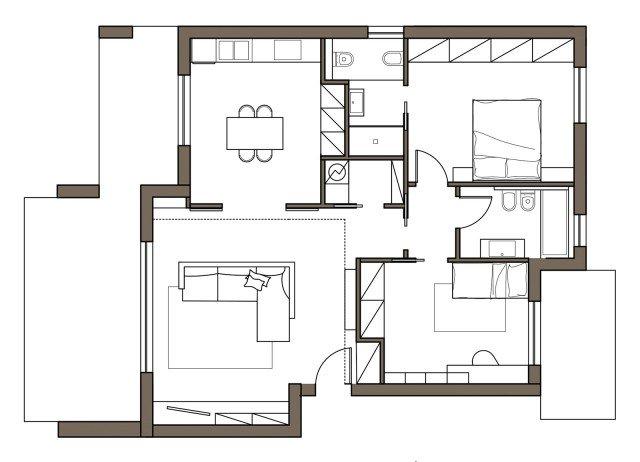 Ricavare un ripostiglio e contenere di pi cose di casa for Progetto di casa loft