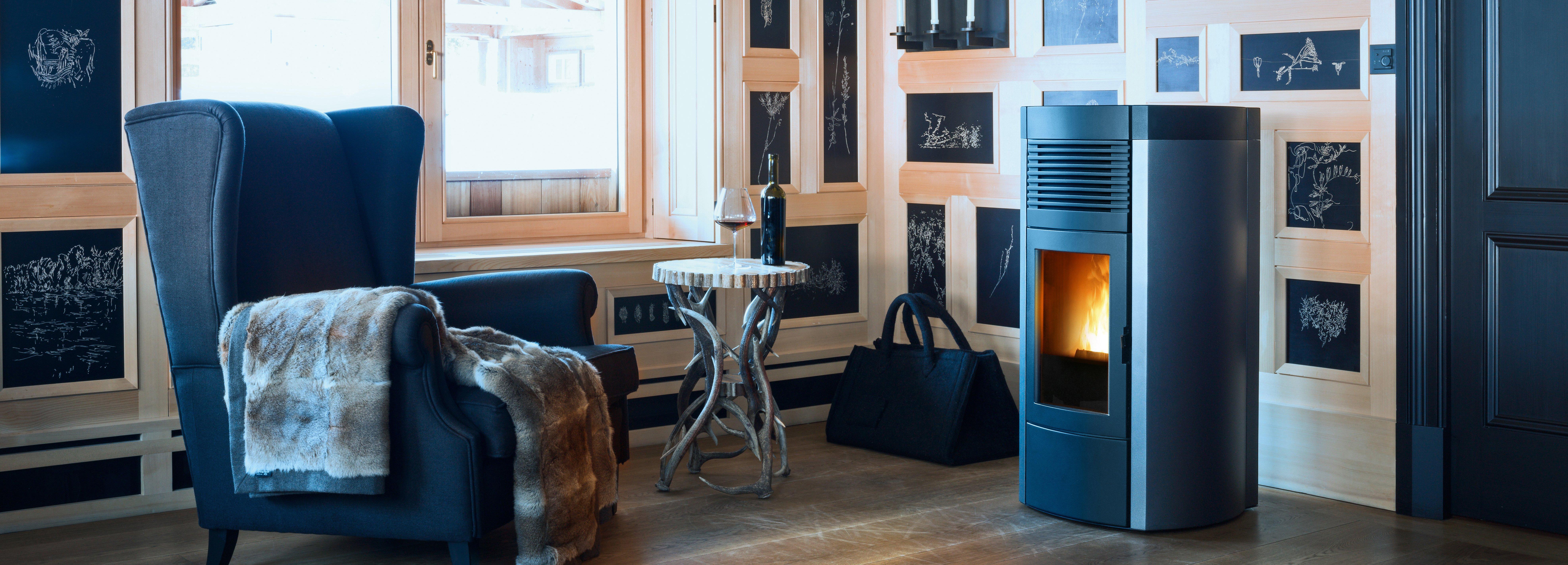 Riscaldare tutta la casa con un 39 unica stufa cose di casa - Come riscaldare la casa ...