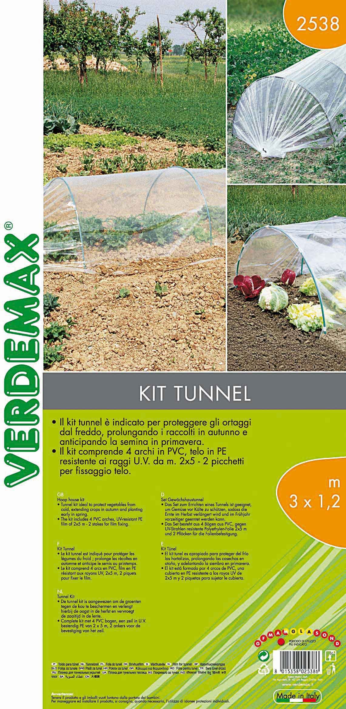 Tunnel Plastica Per Ortaggi.Nell Orto Scegliere E Montare Il Tunnel Cose Di Casa