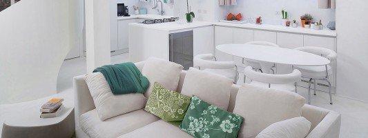 Loft idee su come arredare l 39 appartamento cose di casa - Arredare casa 50 mq ...