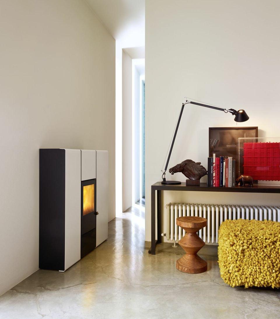 Stufa a pellet e lo scarico fumi cose di casa - Stufe a metano da parete ...