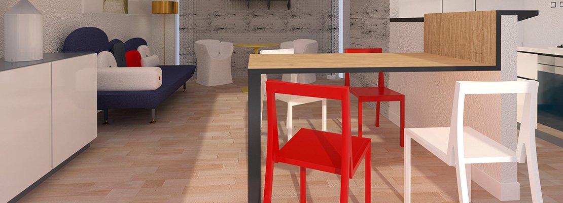 Arredare il soggiorno zona pranzo con cucina a vista cose di casa - Arredare la cucina soggiorno ...