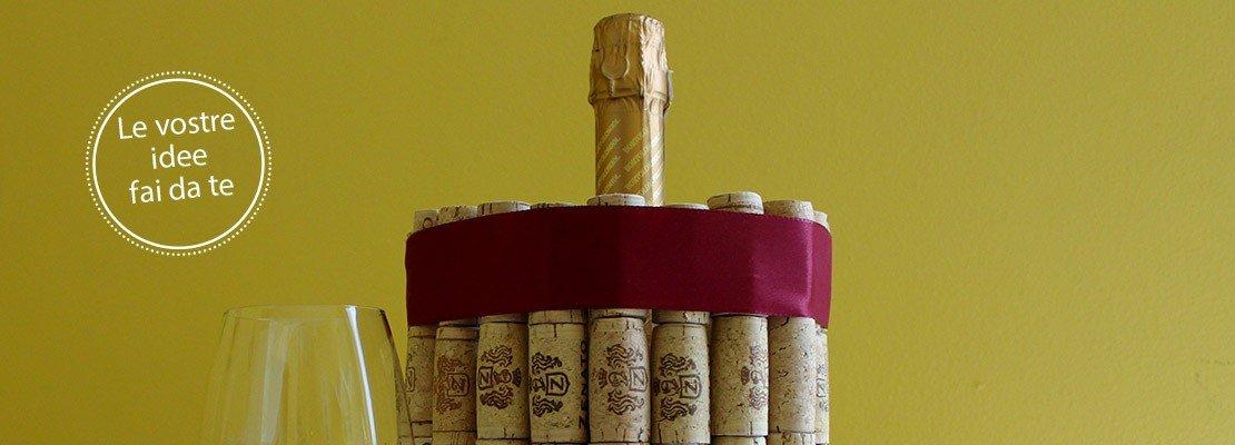 Portabottiglie riciclo e personalizzazione cose di casa - Bagno di vapore lezaeta fai da te ...