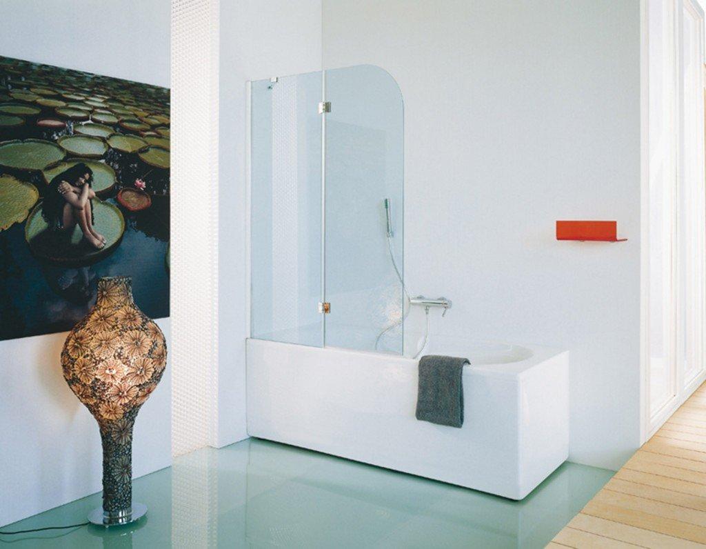 La doccia nella vasca aggiungendo un pannello cose di casa for Piccola doccia della casa