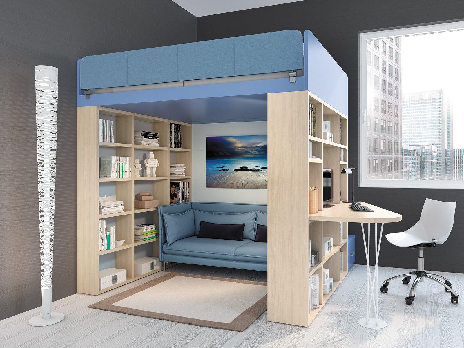 Camerette per adolescenti cose di casa - Camera da letto a soppalco ...