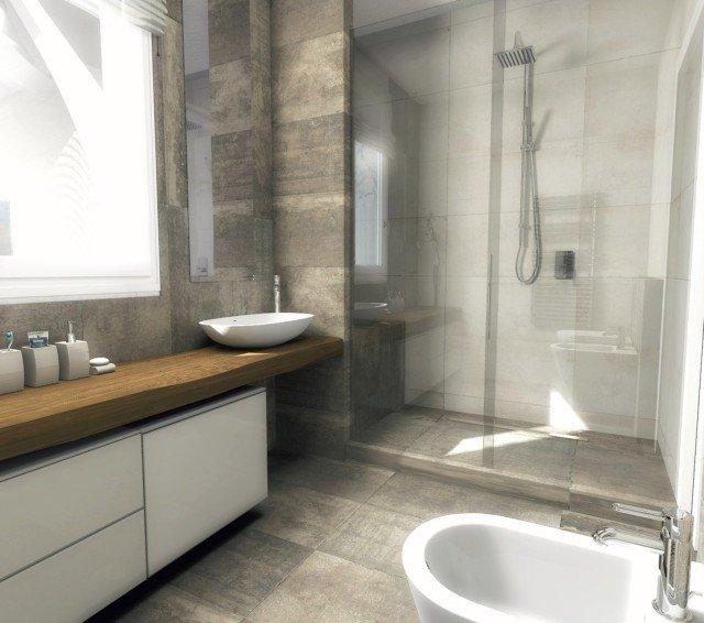 Bagno quale la distribuzione migliore per sanitari e for Entrate case moderne