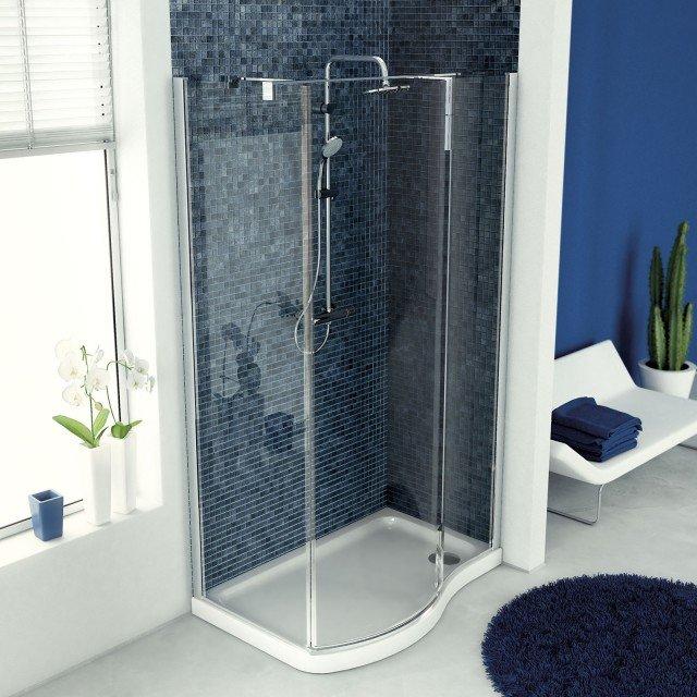 piatto doccia irregolare 70x : Il piatto doccia sagomato Tonic di Ideal Standard per la cabina doccia ...