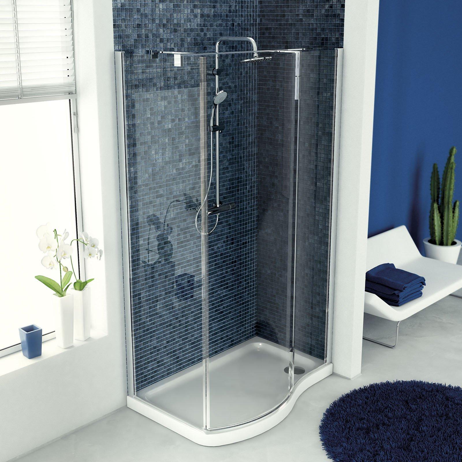 Piatto doccia quadrato rettangolare irregolare cose di casa - Rivestire piatto doccia ...