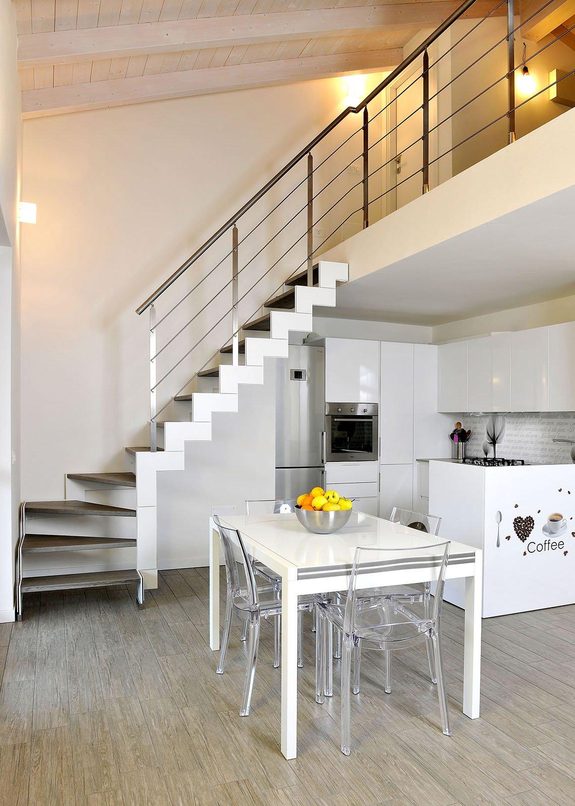 Scegliere la scala per collegare il sottotetto cose di casa for Piano casa artigiano di eplans
