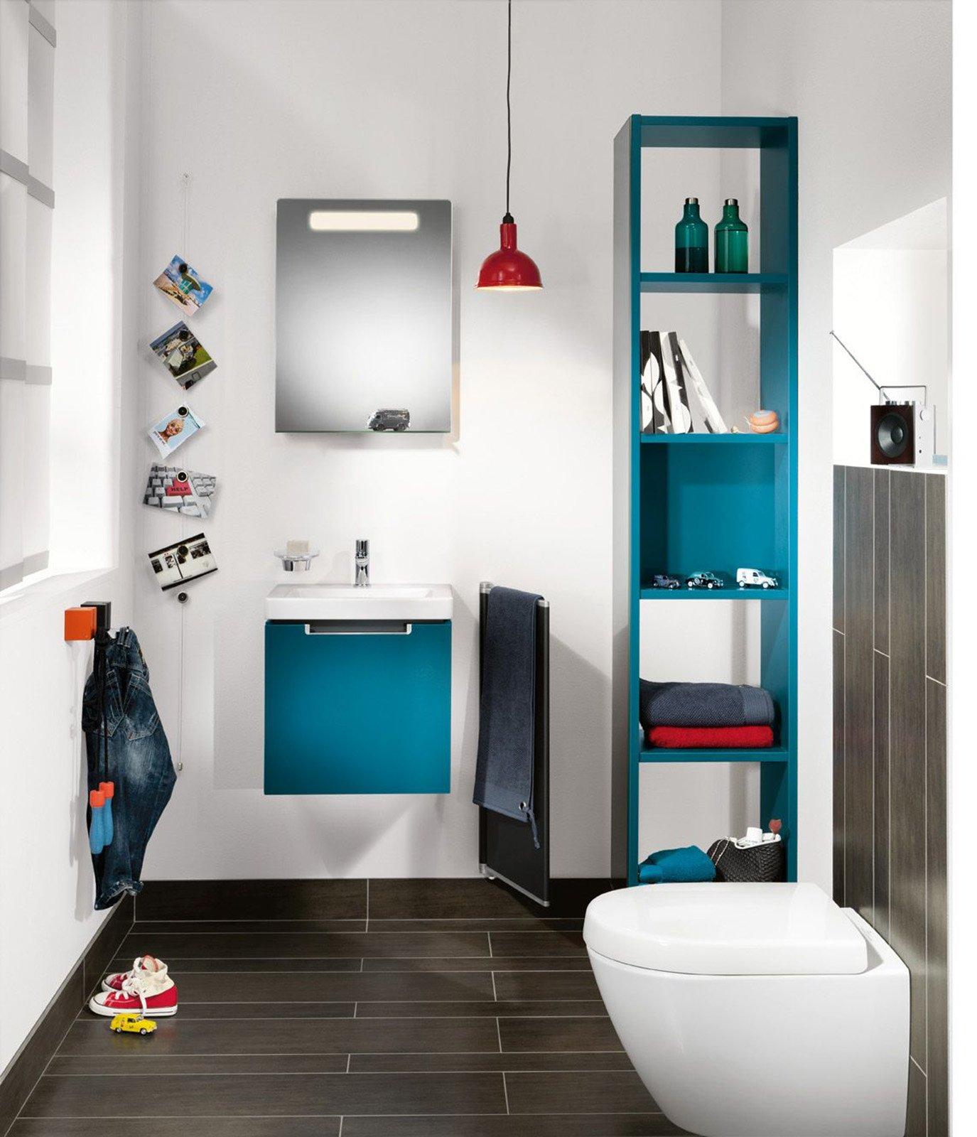 Boy Girl Bathroom Decorating Ideas : Sanitari salvaspazio poco profondi cose di casa