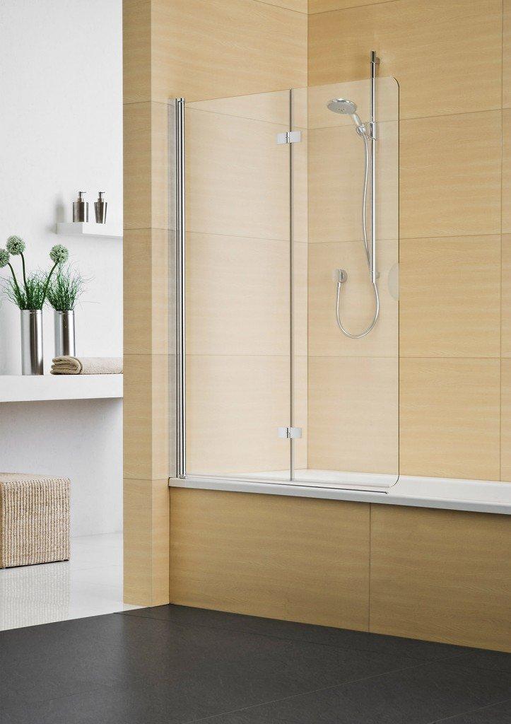 La doccia nella vasca aggiungendo un pannello cose di casa for Parete sopravasca
