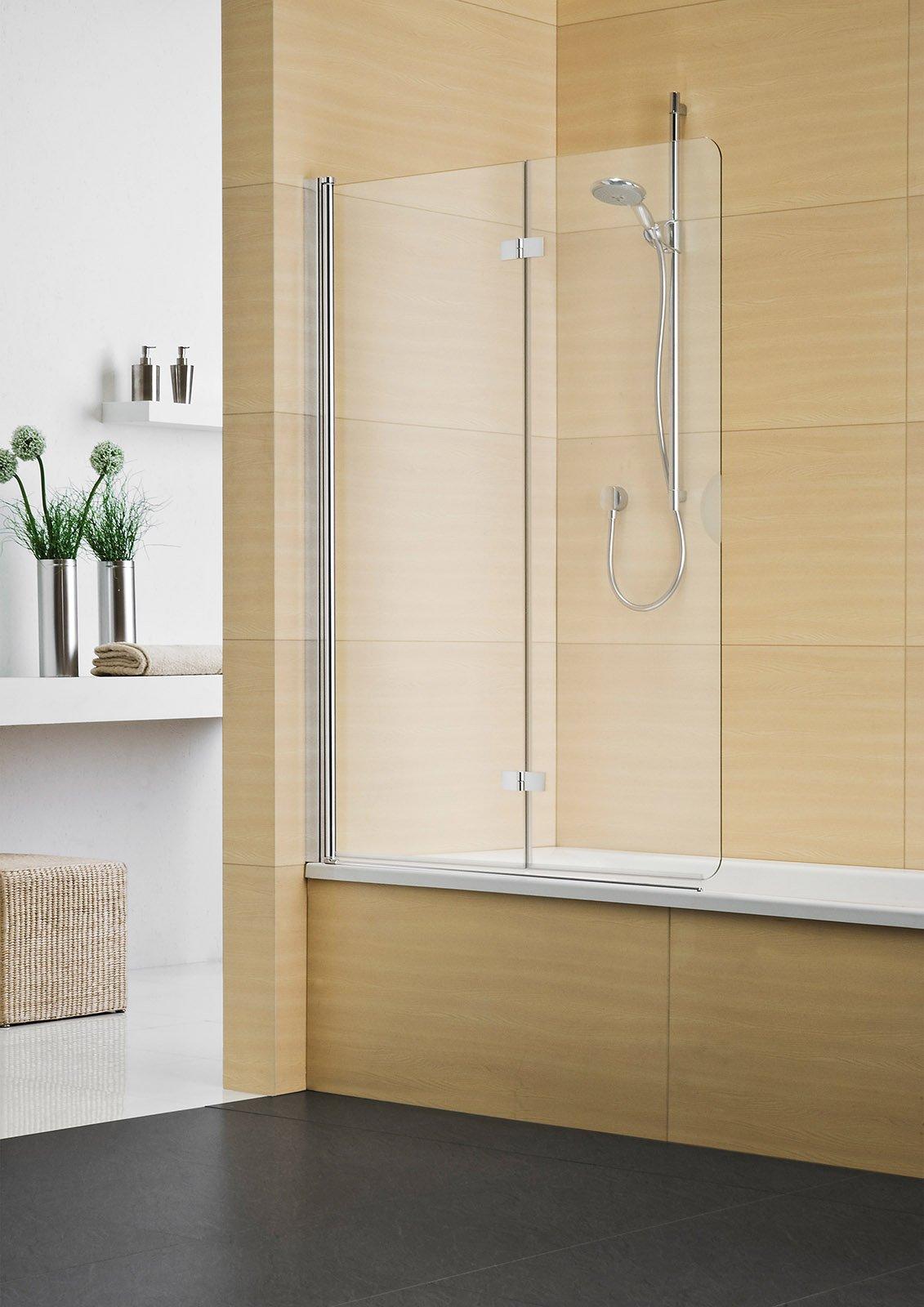 La doccia nella vasca aggiungendo un pannello cose di casa for Parete vasca da bagno leroy merlin