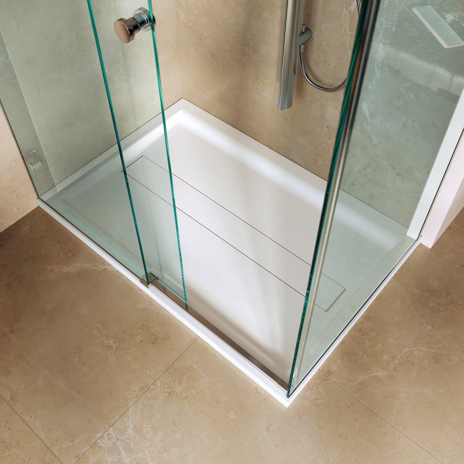Piatto doccia quadrato rettangolare irregolare cose - Piatto doccia incassato nel pavimento ...