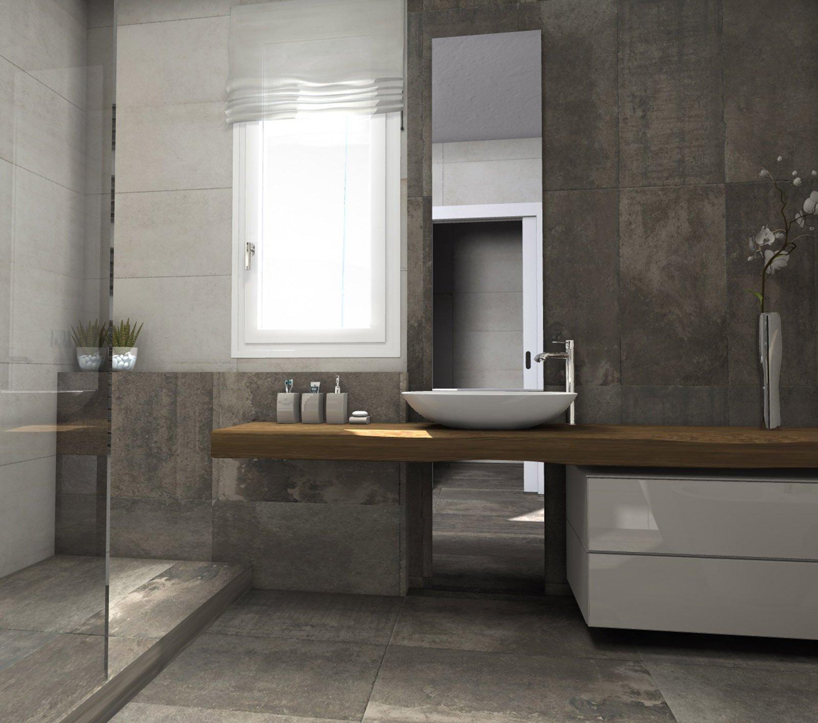 Bagno: quale la distribuzione migliore per sanitari e doccia? - Cose di Casa