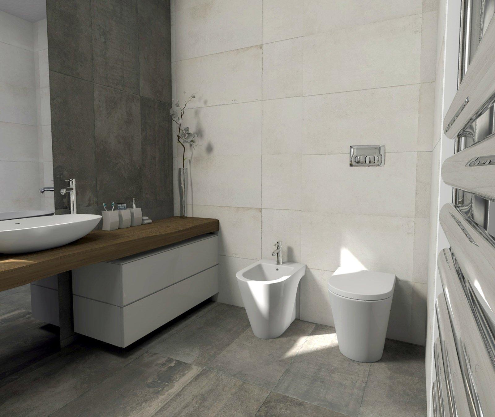 Bagno quale la distribuzione migliore per sanitari e doccia cose di casa for Bagno piccolo con vasca
