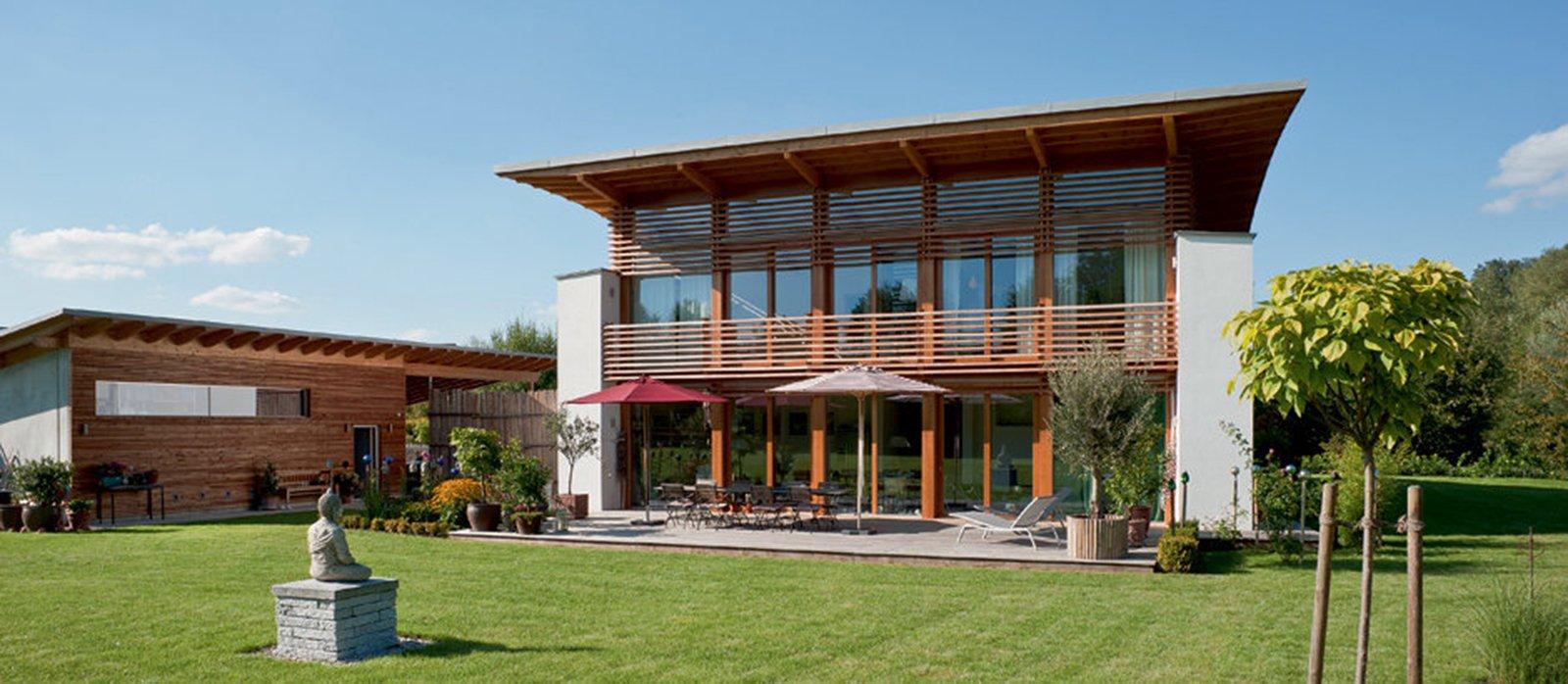 Bioarchitettura e case ecologiche prefabbricate in legno for Foto di case in legno