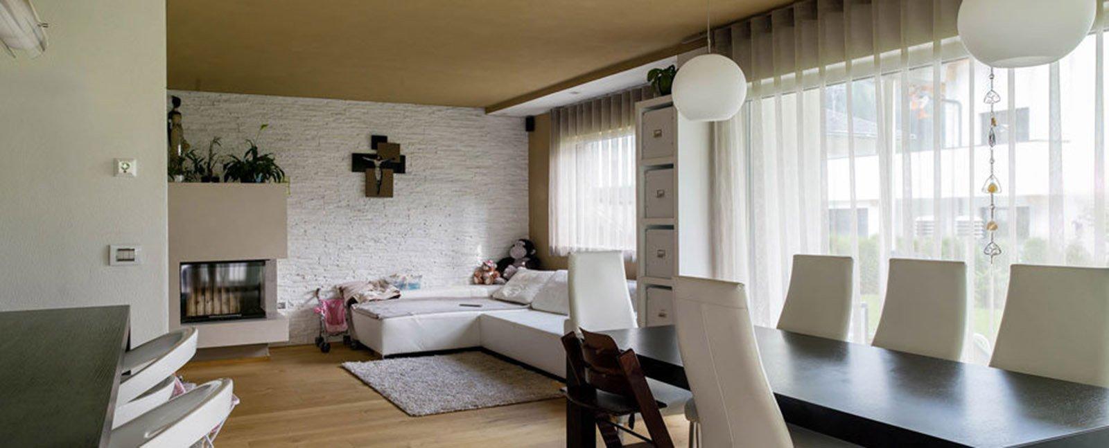 Bioarchitettura e case ecologiche prefabbricate in legno - Case prefabbricate interni ...