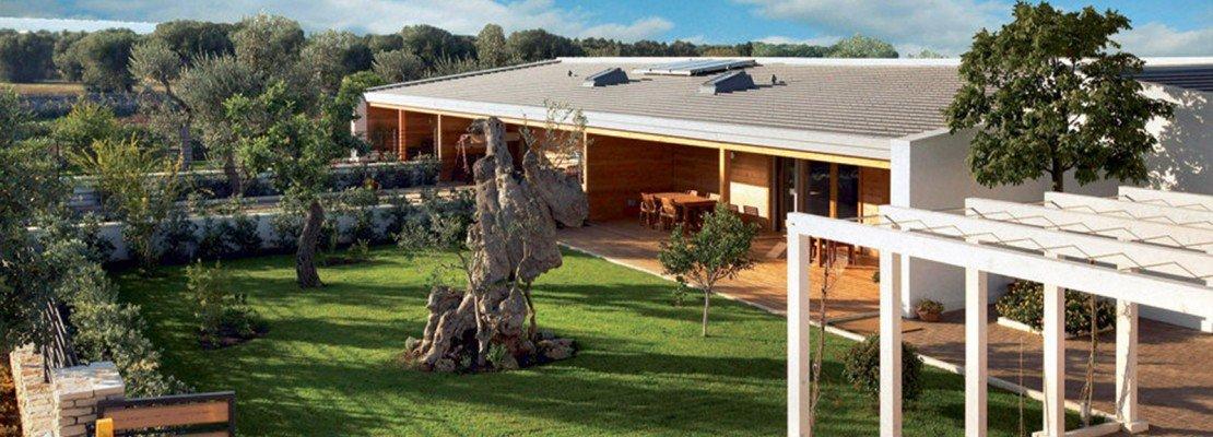 Bioarchitettura e case ecologiche prefabbricate in legno for Aprire case di concetto