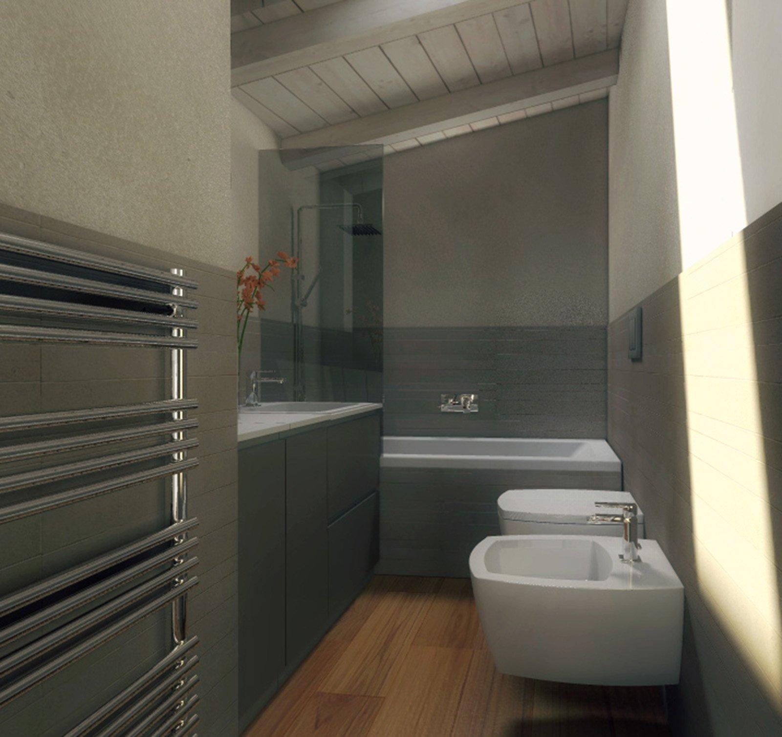 Mansarda una casa sottotetto luminosa e contemporanea for Piani di aggiunta della camera da letto principale