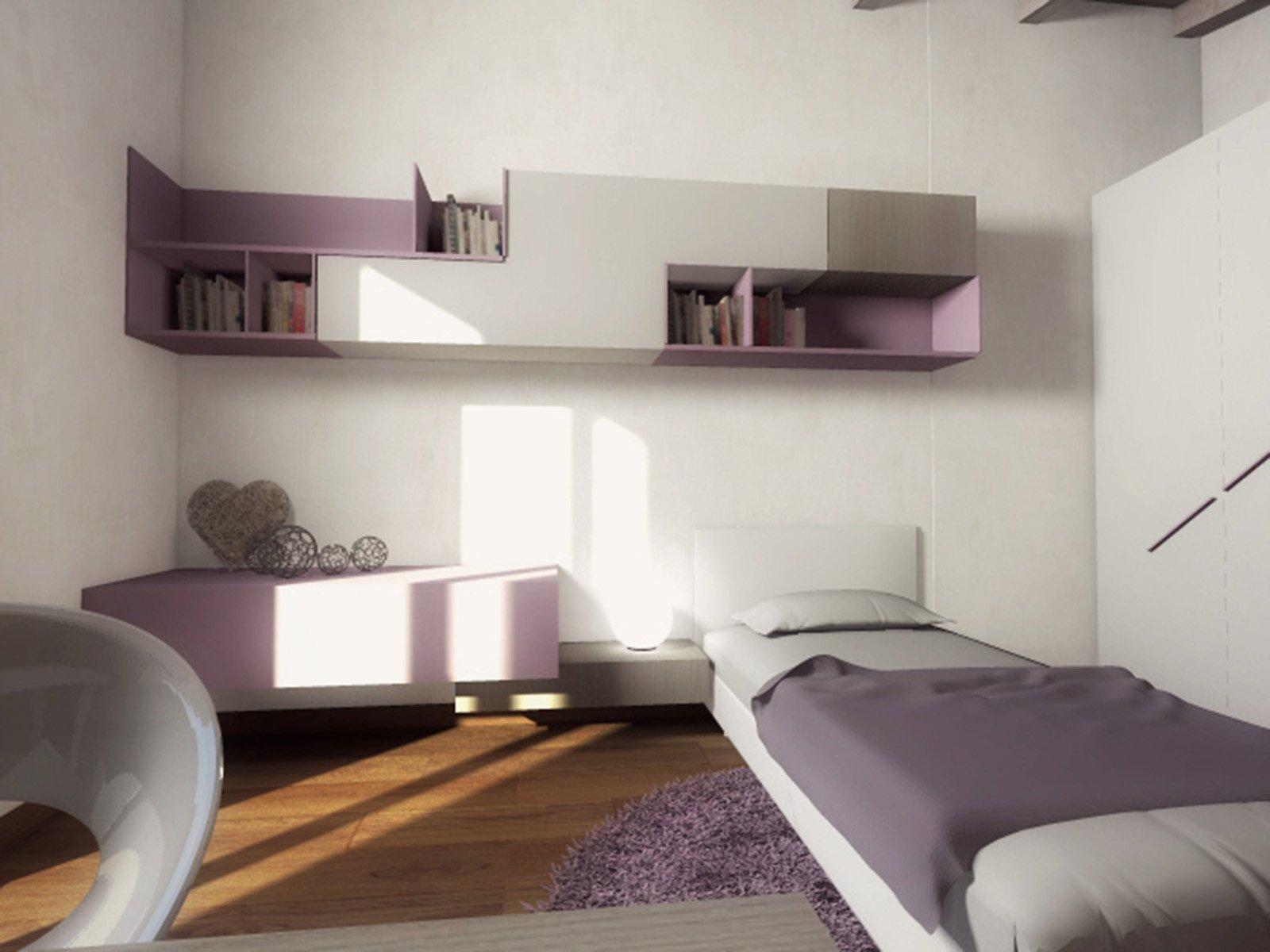 Mansarda una casa sottotetto luminosa e contemporanea for Immagini di casa