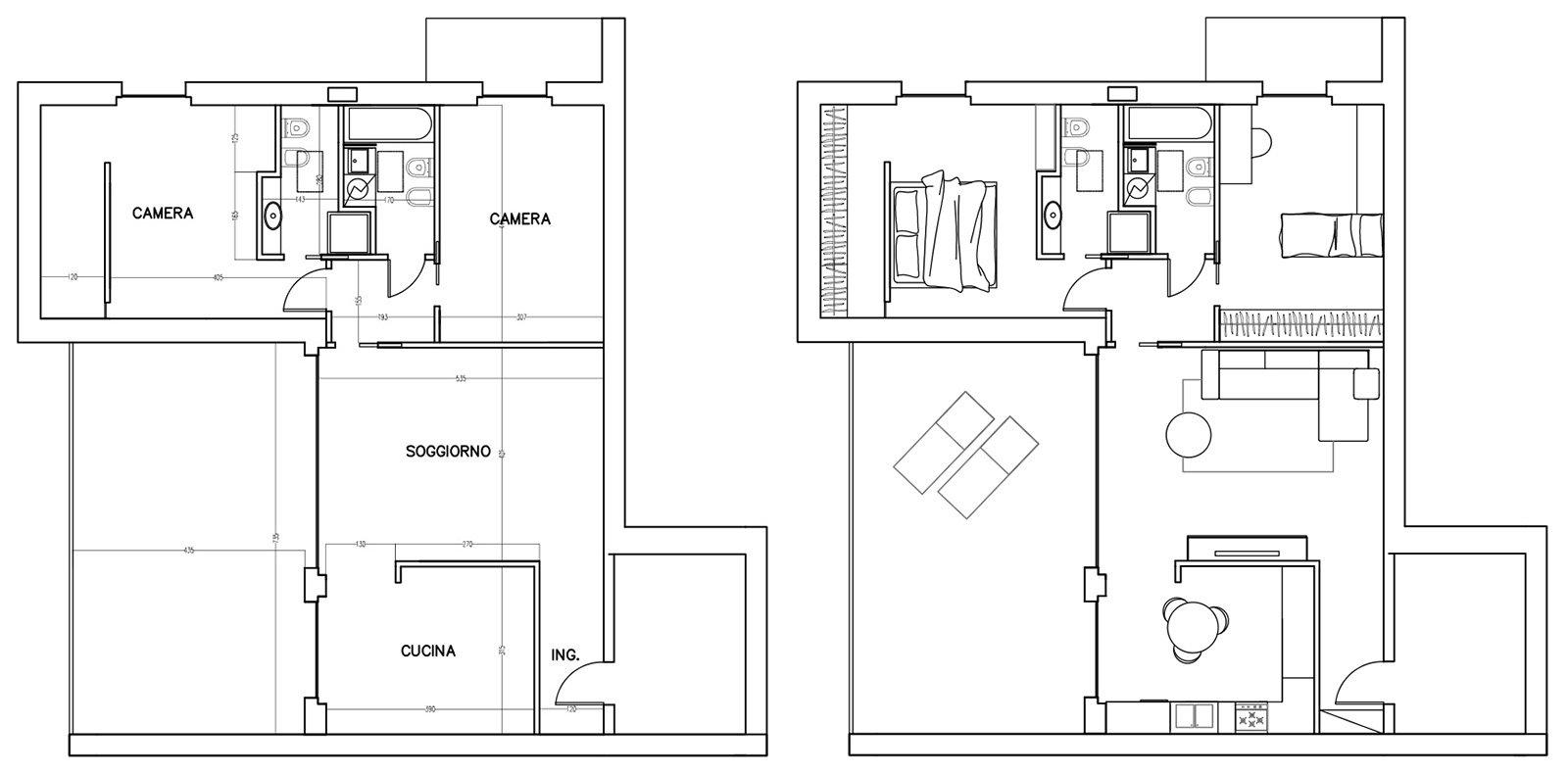 Mansarda una casa sottotetto luminosa e contemporanea for Progetti di una casa a una storia