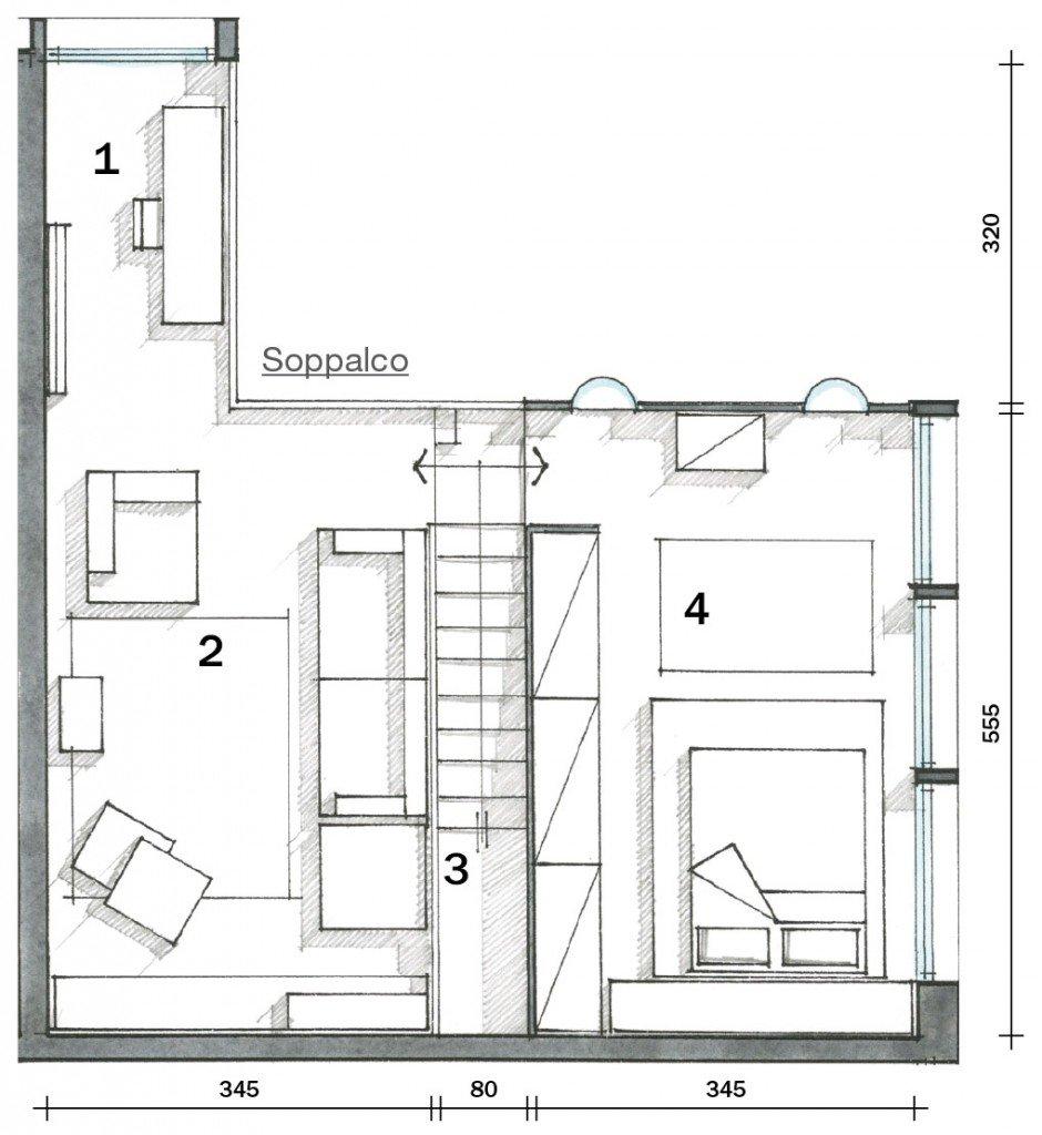 Loft una casa con materiali protagonisti e soppalco per for Progetto di casa loft