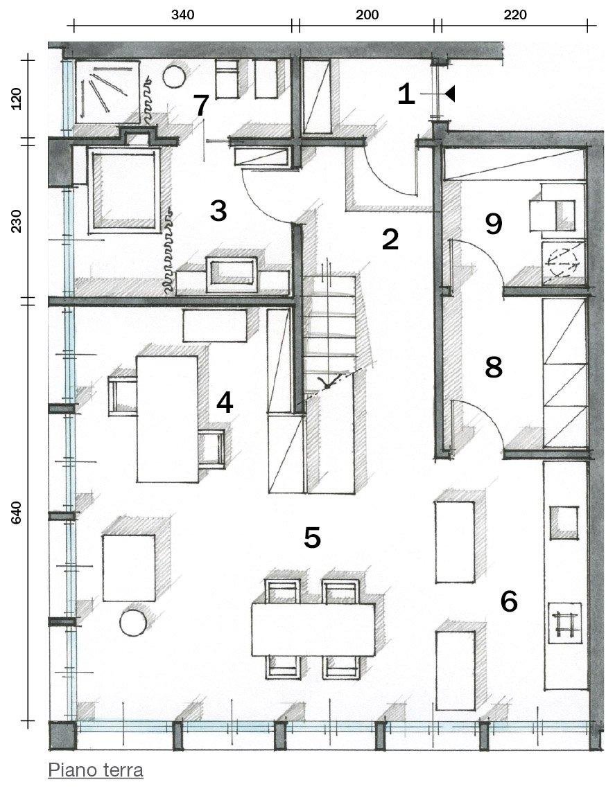 Casa pianta piano terra cose di casa for I piani di casa
