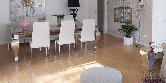 arredamento casa da 50 a 100 mq, idee e progetto - cosedicasa.com - Soggiorno Cucina Open Space 30 Mq