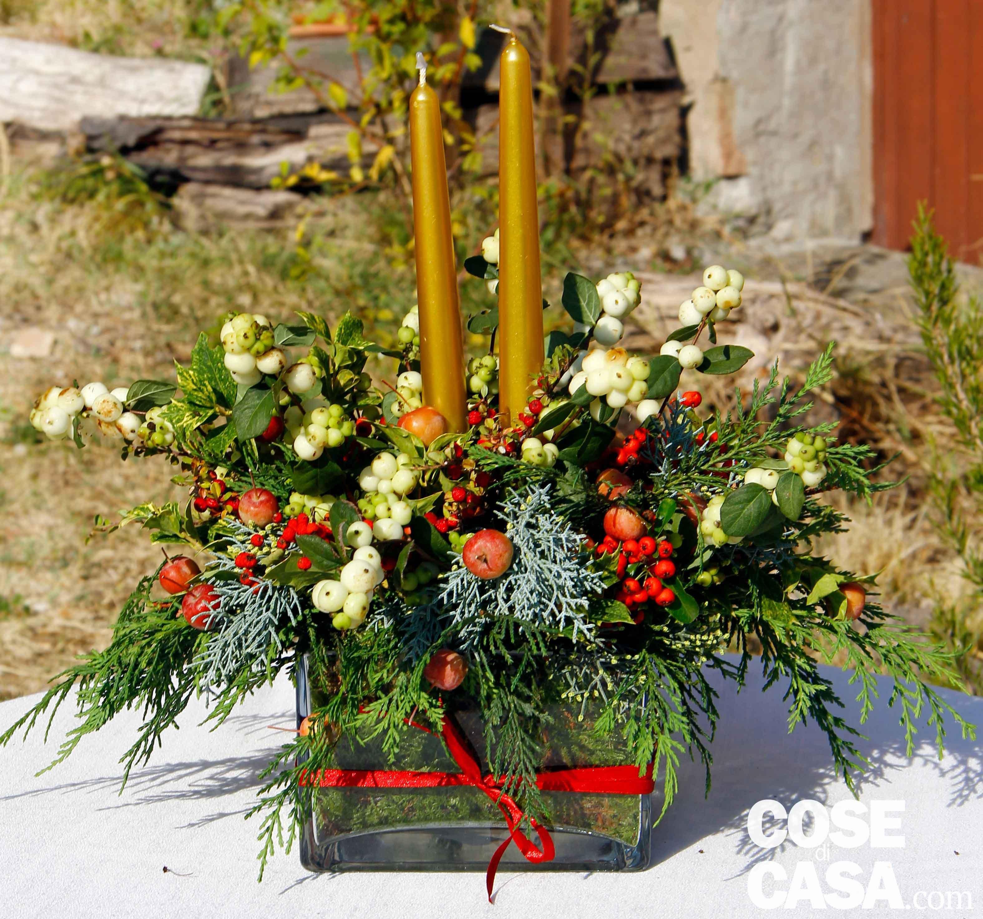 Natale Frutta Secca Addobbi Ecologia Albero Di Natale Ambiente  #C0180B 3150 2946 Come Addobbare Una Sala Da Pranzo Per Natale