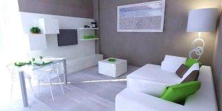 Un progetto per arredare il soggiorno conservando alcuni mobili