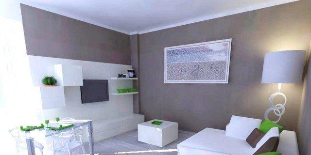 Un progetto per arredare il soggiorno conservando alcuni mobili ...
