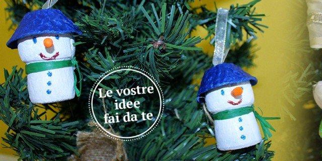 Decorazioni natalizie mini addobbi fai da te per l 39 albero for Addobbi casa fai da te