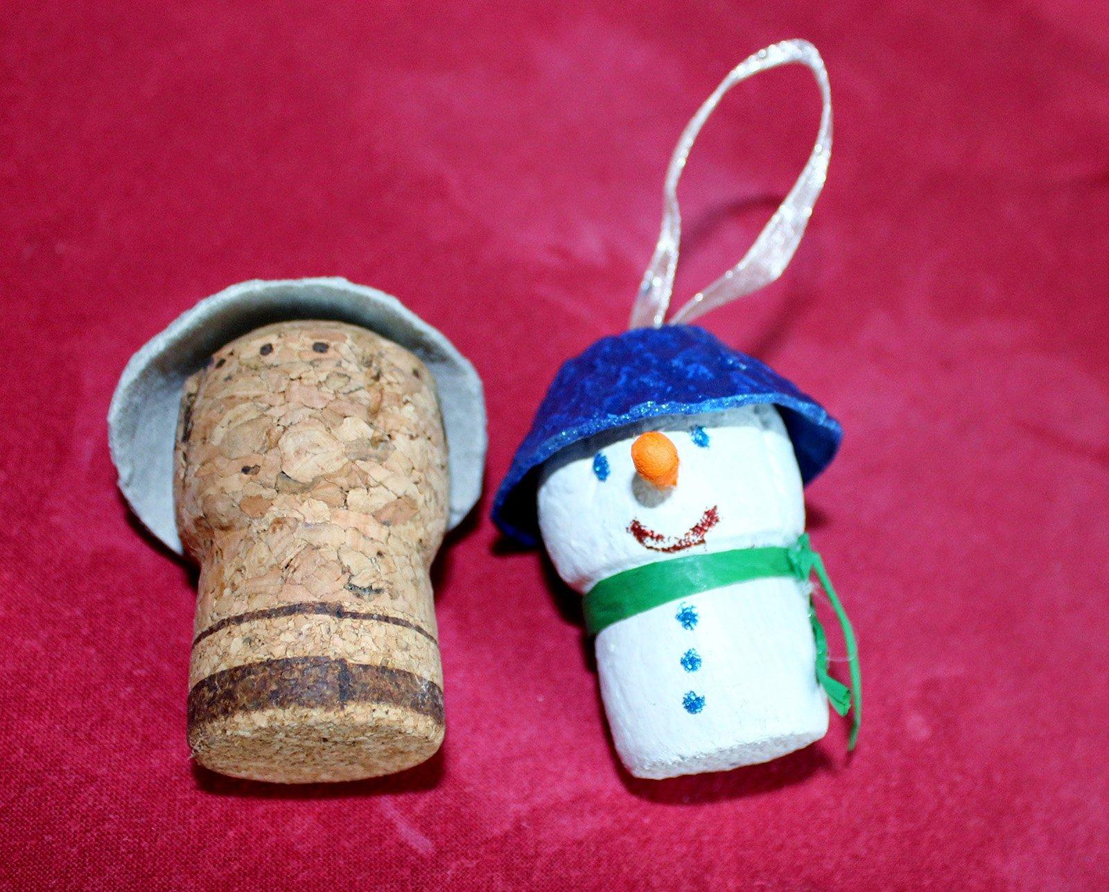 Decorazioni natalizie mini addobbi fai da te per l 39 albero - Decorazioni di natale con materiale riciclato ...