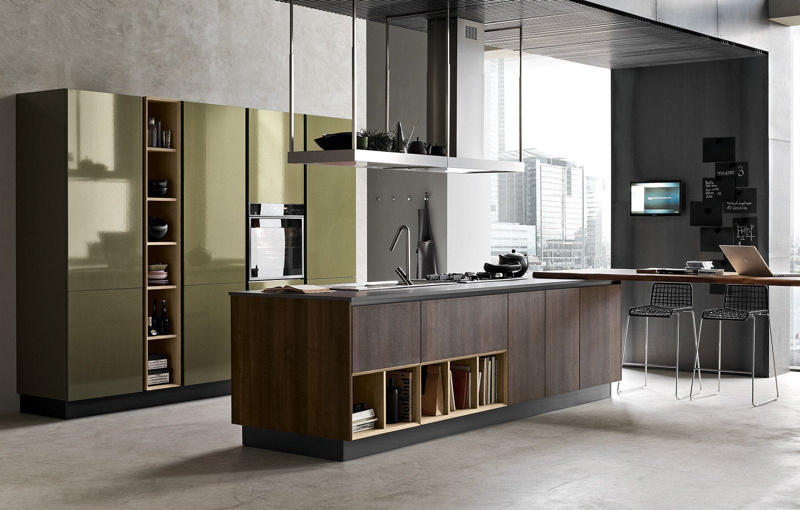Cucine con isola o penisola a giorno cose di casa - Dimensioni top cucina ...