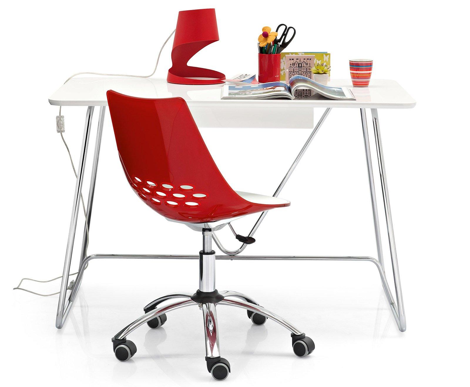 Sedie con le ruote per la scrivania cose di casa for Ikea sedie per scrivania