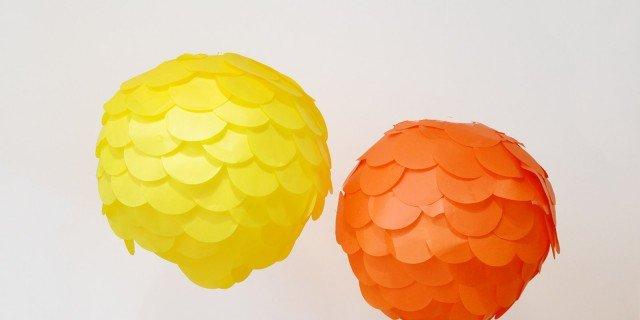 A Carnevale il lampadario diventa lanterna colorata